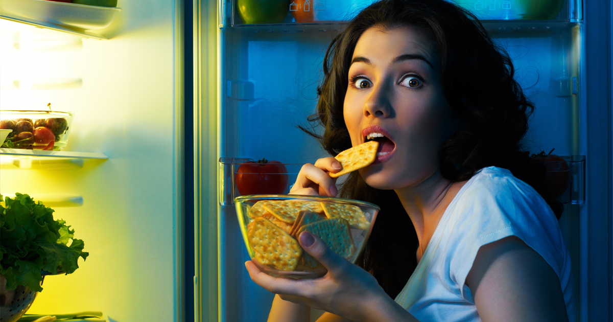 Evening munchies - the Achilles heel of many dieters